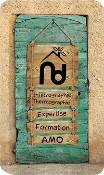 Naturellement Durable - Infiltrographie & Thermographie, Expertise Formation AMO